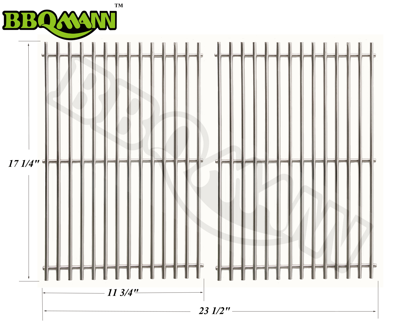 BBQ Stainless Steel Rod Replacement Cooking Grill Grid Grate for